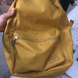 Yellow Herschel Backpack